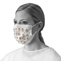 Adult Procedure Face Mask with Pediatric Buddy Print mask, face mask, procedure, surgical, covid19, protection, breathable, breath, ear loops, corona,